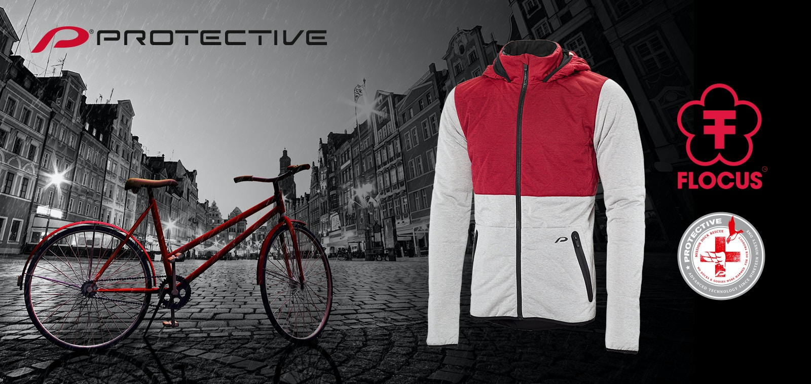 Protective Scoope - Fahrradjacke aus wärmenden Tropenfasern