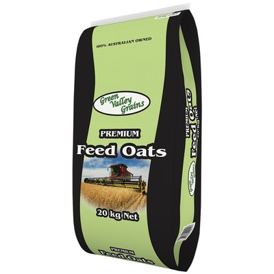 Green Valley Premium Feed Oats Animal Feed Supplement 20kg