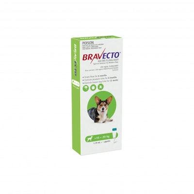 BRAVECTO Spot On 10-20kg Dog 6 Month Pack
