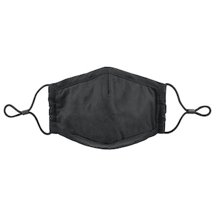 Premium Reusable 3 Ply Fabric Mask with Filter Pocket