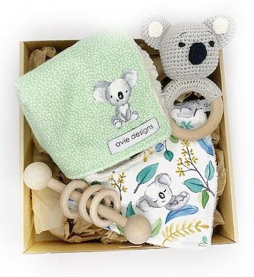 Avie Designs Koala! Newborn Baby Gift Box, Baby shower Gift