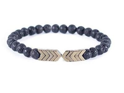 arōmaLEAF Lava Arrow Bracelet