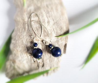 Uniqu-Lea Yours Lapis Lazuli Drop Earrings