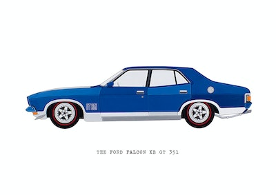 The Ford Falcon XB GT 351