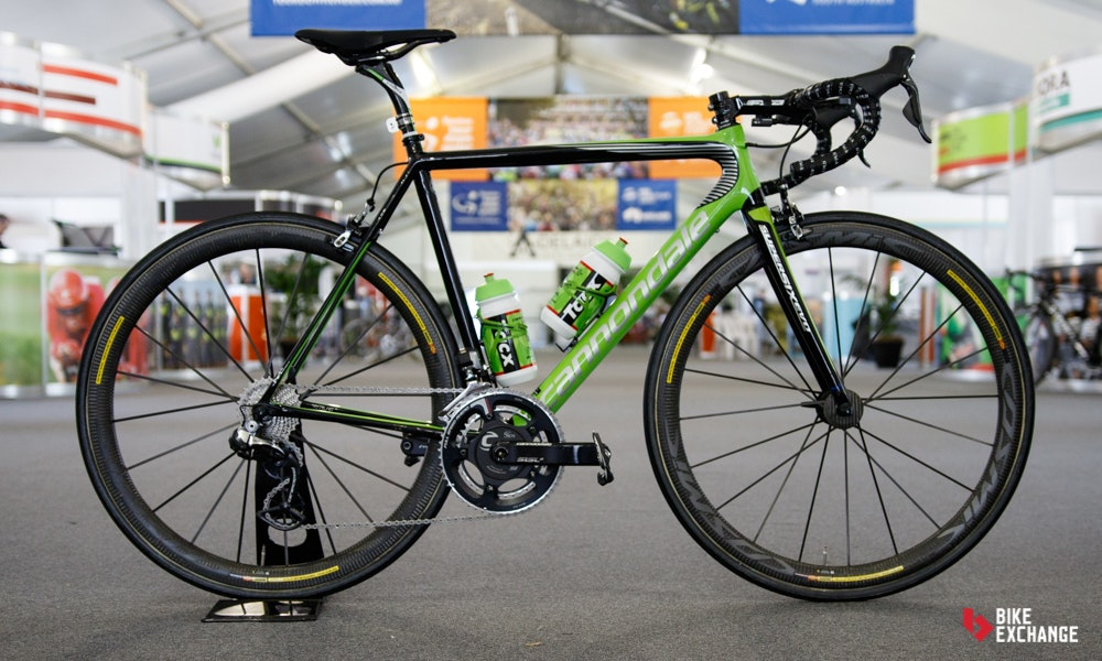 bikes of the 2017 worldtour cannondale supersix evo
