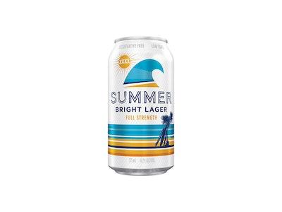 XXXX Summer Bright Lager Can 375mL