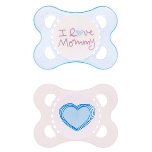MAM Love and Affection Dummies 0 - 4m 2PK