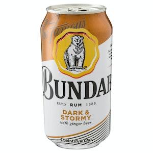 Bundaberg Rum Dark & Stormy Can 375mL