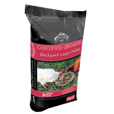 Country Heritage Organic Backyard Layer Pellet Poultry Feed 5kg