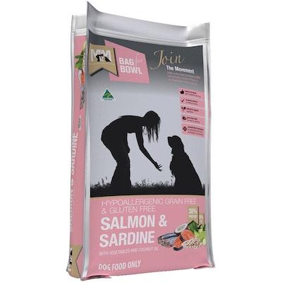 MEALS FOR MUTTS MFM Grain Free & Gluten Free Salmon & Sardine Dog Food - 3 Sizes