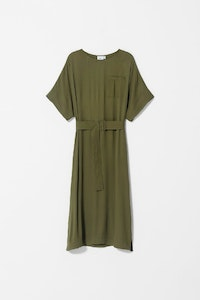 ELK AIRI DRESS OLIVE