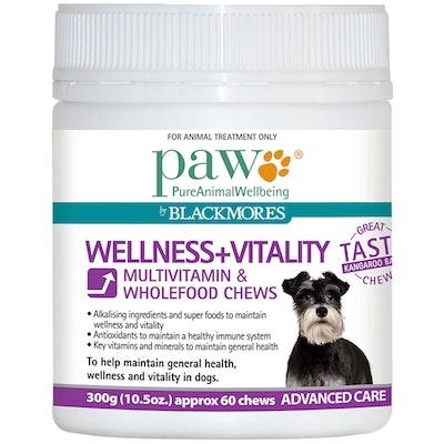 Paw Wellness & Vitality Dogs Multivitamin & Wholefood Chews 300g