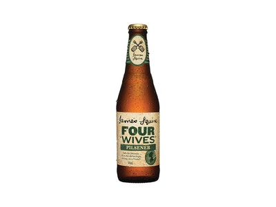 James Squire Four Wives Pilsener Bottle 345mL