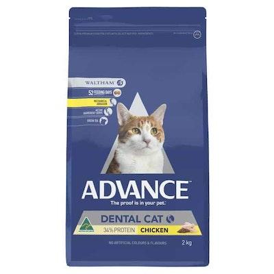 Advance Dental Care Chicken Dry Cat Food 2Kg