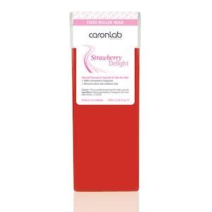 Caronlab Strawberry Delight Strip Wax Cartridge Fixed Head (100ml) Hair Removal