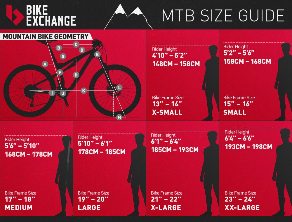 Mountain Bike Buyers Guide BikeExchange 2016 rigid MTB Bike Size