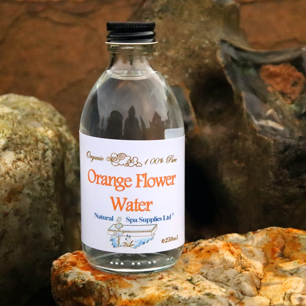 Natural Spa Supplies Orange Flower Water, 100% Pure And Organic Ingredients