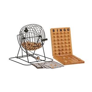 Jenjo Wooden Bingo