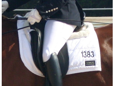 Saddle Blanket with Numbers