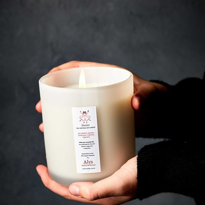 LOVE ALY'S DESIRE Candle | 100% Natural Soy Wax Candle With Essential Oils