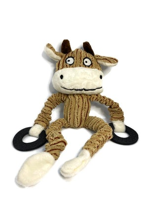 The Doggie Balm Co Jersey Bell Animal Toy (small dogs only)