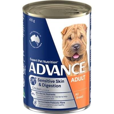 Advance Wet Dog Food for Sensitive Adult Dogs 410g
