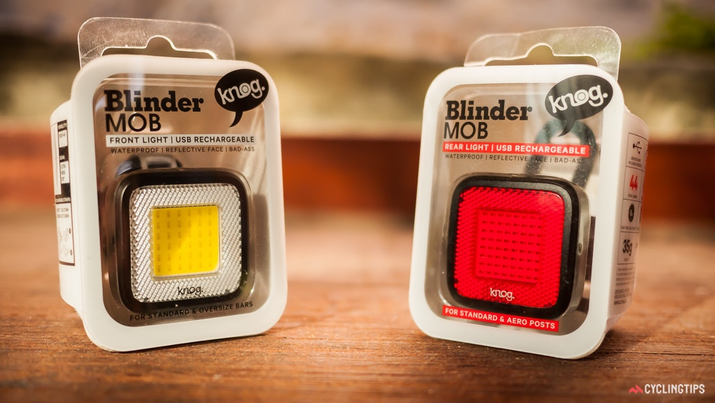 First Look at the Knog Blinder MOB