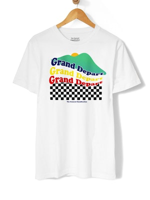 The General Classification Grand Départ Tee White