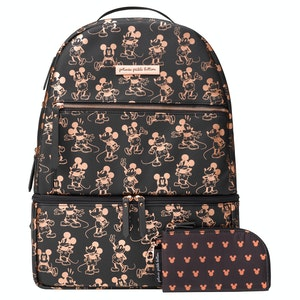 Petunia Pickle Bottom Axis Backpack - Metallic Mickey