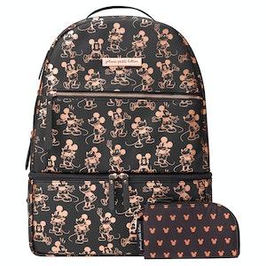 Petunia Pickle Bottom Axis Backpack - Metallic Mickey