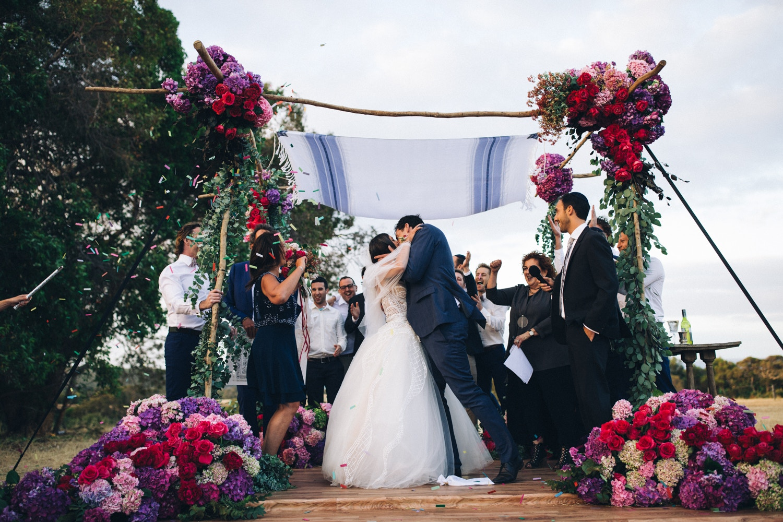 Bohemian Bloom Wedding