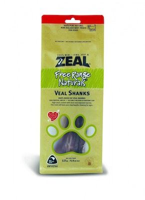 Zeal Free Range Naturals Veal Shanks Dog Cat Treat 125g