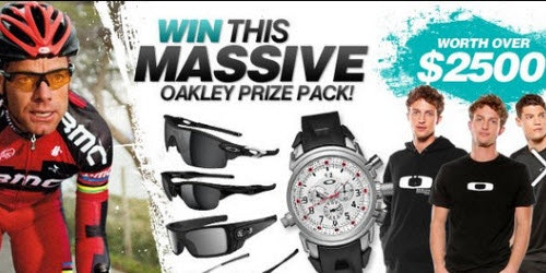 Oakley and BikeExchange Competition Winner