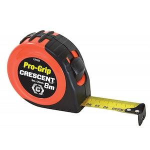 Tape Measure 8m x 25mm Pro-Grip CP8SI