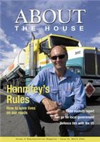 Truckie About The House Rod Hannifey puts his time in the safer roads message