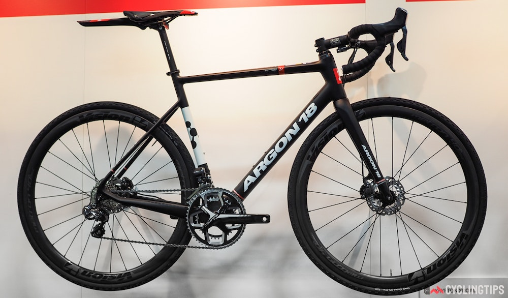 Interbike 2016 BikeExchange Argon 18 Gravel