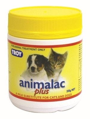 Troy Animalac Plus Pet Milk Powder Substitute Pet Cat Dog 250g