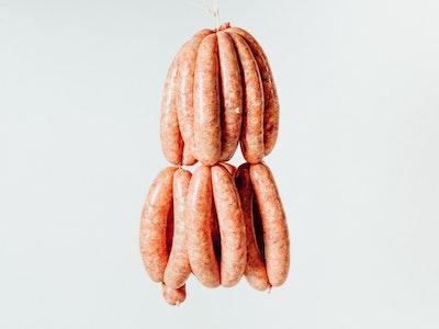 Lamb, Black Garlic and Sorrel Sausages, 4PC