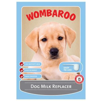 Wombaroo Baby Orphaned Dog Puppy Milk Replacer Substitute - 3 Sizes