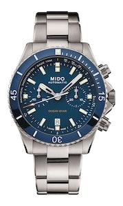 Mido Ocean Star Chronograph - Titanium - Titanium Bracelet