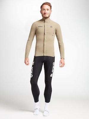Black Sheep Cycling Men's Elements Micro Jacket - Sand