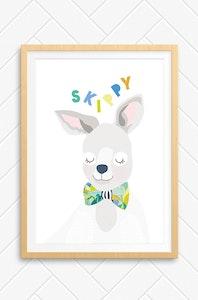 'Skippy' Unframed Print - A4 Size