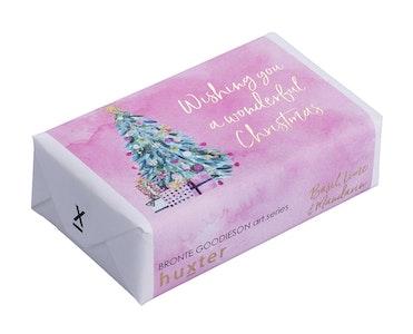 Huxter - Soap Bar - Wishing You A Wonderful Christmas - Basil, Lime & Mandarin