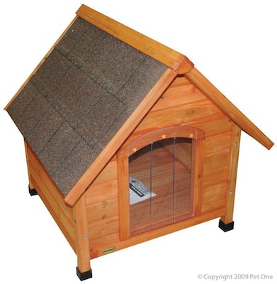 Dog Kennel Pitched Roof Chalet Pet One