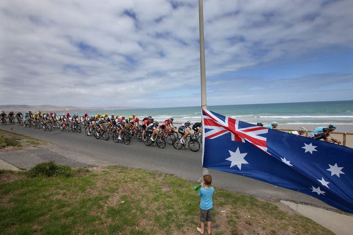 Willunga Hill Etappe Tour Down Under