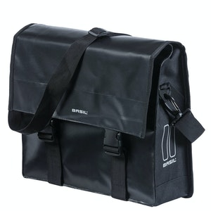 Basil Urban Load Messenger Bag Black 15-17L