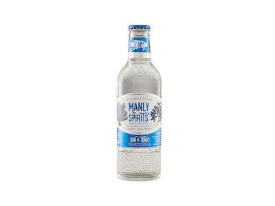 Manly Spirits Australian Dry Gin & Tonic Bottle 275mL