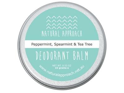 Natural Approach 15g - Peppermint, Spearmint & Tea Tree - Natural Deodorant