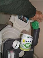 No mess convenience combines  eco-sense in Thetford waste tank product