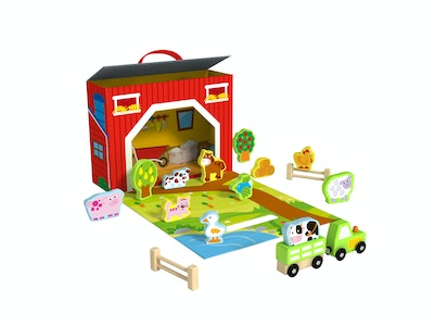 Tooky Toy FARM PLAY BOX
